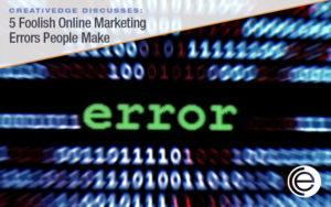 Online Marketing Errors