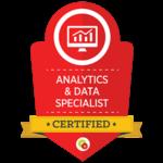 Certified Analytics & Data Specialist