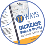 "Get Your Free Book: ""74 Ways to Increase Sales & Profits"""