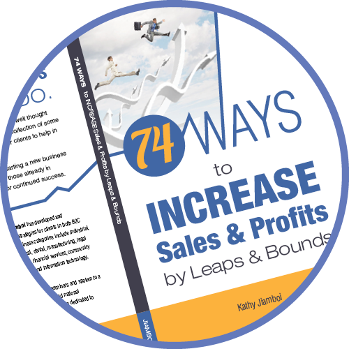 74 Ways to Increase Sales & Profits